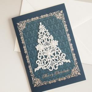 グリーティングカード クリスマス アンティーク調 グリーティングカード 2種類|comfy-shop