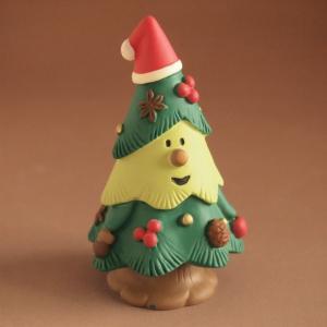 デコレ コンコンブル まったりマスコット クリスマス雑貨 木の実ツリー|comfy-shop