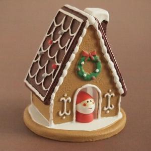 デコレ コンコンブル まったりマスコット クリスマス雑貨 お菓子の家 ミニサンタ付き comfy-shop