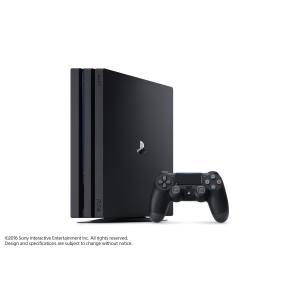 ■新品■ 4K対応高機能モデル PlayStation4 Pro ジェット・ブラック 1TB(CUH-7100BB01) comgstore