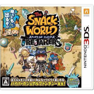 新品 3DS スナックワールド トレジャラーズ|comgstore