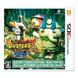 新品 3DSソフト 妖怪ウォッチバスターズ2 秘宝伝説バンバラヤー ソード comgstore
