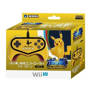 新品 Wii U 「ポッ拳」専用コントローラー for Wii U ピカチュウ|comgstore