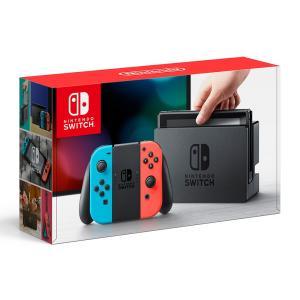新品 Nintendo Switch Joy-Con(L)ネオンブルー/(R)ネオンレッド|comgstore
