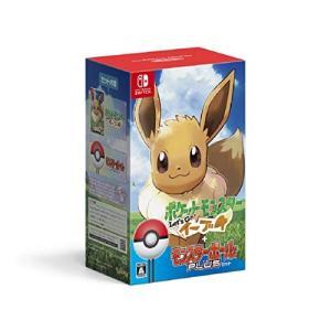 新品 Nintendo Switchソフト ポケットモンスター Let's Go! イーブイ モンスターボール Plusセット|comgstore