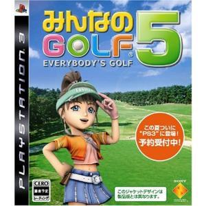 中古 PS3ソフト みんなのGOLF 5|comgstore