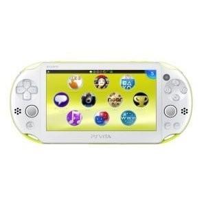 中古 Vita本体 PS Vita Wi-Fiモデル  ライムグリーン/ホワイト(PCH-2000)|comgstore