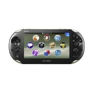 中古 Vita本体 PS Vita Wi-Fiモデル   カーキ/ブラック(PCH-2000)|comgstore
