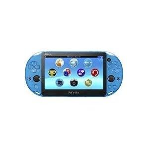 中古 Vita本体 PS Vita Wi-Fiモデル   アクア・ブルー(PCH-2000)|comgstore