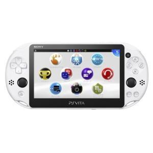 中古 Vita本体 PS Vita Wi-Fiモデル   グレイシャー・ホワイト(PCH-2000)|comgstore