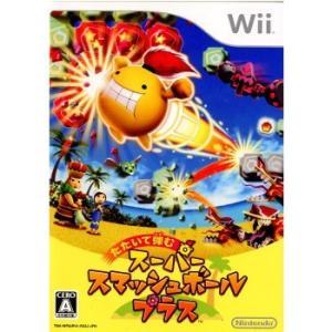 中古 Wiiソフト 【ソフト単品】たたいて弾む スーパースマッシュボール・プラス|comgstore