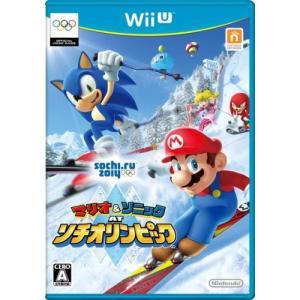 中古 WiiUソフト マリオ&ソニック AT ソチオリンピック|comgstore