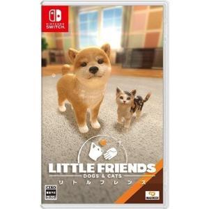 中古 Nintendo switchソフト LITTLE FRIENDS - DOGS & CATS...