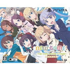 新品 Vita NEW GAME! -THE CHALLENGE STAGE!-(限定版)【COMG!オリジナルクオカード付】 comgstore