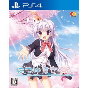 オリ特付 PS4ソフト はつゆきさくら(通常版)【COMG!オリジナルクオカード付】 comgstore