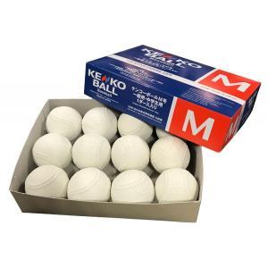 即納 ケンコー軟式M号 2017年9月〜新規格 ダース販売  公認試合球  領収書発行可能 2ダースから送料無料!軟球 野球用品 ボール 公認球|commencer