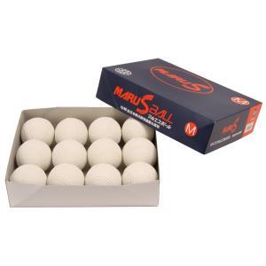 【2ダース】 期間限定価格!即納 マルエス軟式M号 メジャー号 新規格   公認試合球  領収書発行可能 軟球 野球用品 ボール 公認球|commencer