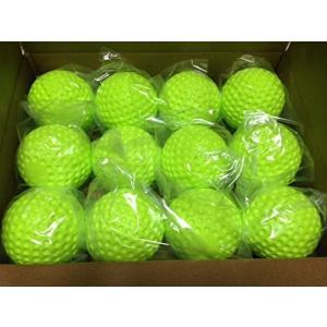 ジャグス社製 ソフトボール 3号球 ディンプルボール B2015 練習球 12個 1ダース 実績あり夜間、雨天用に耐久性抜群|commencer