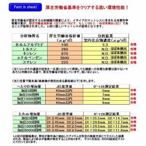 セミダブル イサイア IF-128 イタリア 7インチ ポケットコイルマットレス|communication1|07