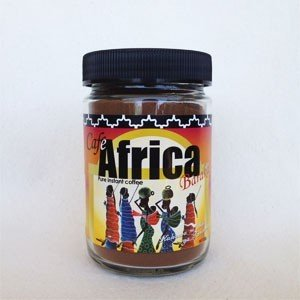 バラカ カフェアフリカ 80g(瓶)簡単で美味しい♪自然農法で育った香り豊かなコーヒー豆|communitytradeal