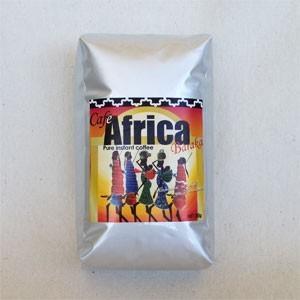 バラカ カフェアフリカ 80g(詰替用袋)簡単で美味しい♪自然農法で育った香り豊かなコーヒー豆|communitytradeal