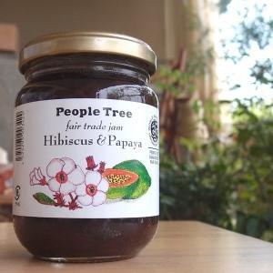 ハイビスカス&パパイヤ ジャム 200g【ピープルツリー】|communitytradeal