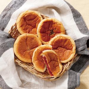 スマイル小町セット (天然酵母 保存料無添加 あんパン クリームパン ジャムパン) |como