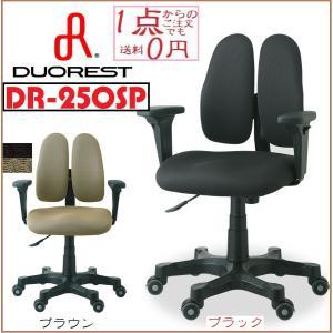 送料無料 ◎デュオレスト「DR-250SP」 ミドルタイプ  人間工学に基づいたオフィスチェア ■サ...