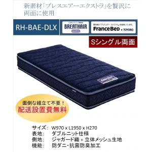 開梱設置料無料 フランスベッド RH-BAE-DLX ボディコンディショニング リハテック S シン...