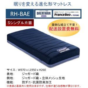 開梱設置料無料 フランスベッド RH-BAE ボディコンディショニング リハテック S シングルサイ...