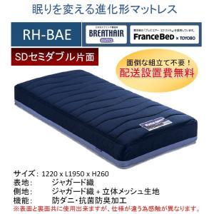 開梱設置料無料 フランスベッド RH-BAE ボディコンディショニング リハテック SD セミダブル...