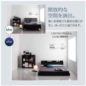 ベッド シングル 安い ベッド シングル マットレス付き ローベッド シングルベッド コンセント付き スカイライン スタンダードボンネルコイル|comodocrea|06