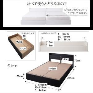 ベッド シングル 収納付き ベッド シングル マットレス付き シングル comodocrea 17
