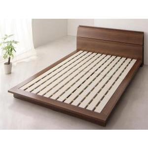 ベッド シングルベッド 棚付き コンセント付き ローベッド シングル フレームのみ シングル|comodocrea