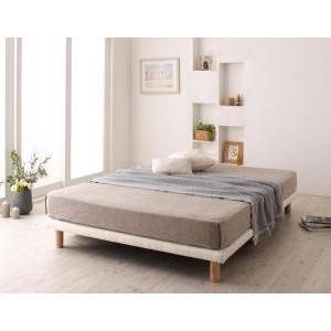 シングルベッド すのこ構造 脚付きマットレス ボトムベッド マットレスベッド スタンダードボンネルコイルマットレス付き シングル 脚15cm|comodocrea