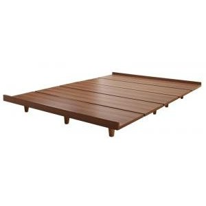 デザインボードベッド ベッドフレームのみ 木脚タイプ ダブル|comodocrea
