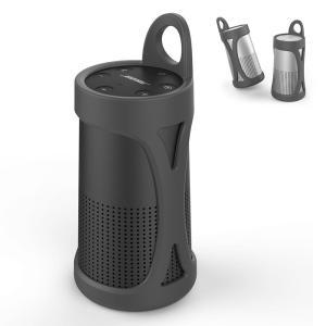 AhaStyle Bose SoundLink Revolve用シリコントケース ポータブル 携帯カ...