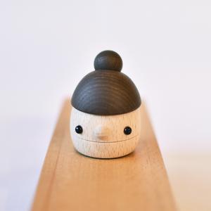 こまむぐ公式 どんぐりまま 木のおもちゃ 日本製 知育 木育 木製玩具 動くおもちゃ comomg