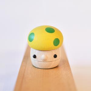 こまむぐ公式 どんぐりきのこ 木のおもちゃ 国産 知育 木育 ベビートイ |comomg