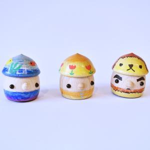 こまむぐ公式ショップ どんぐり工作キット【どんぐり帽子】 木のおもちゃ 日本製 知育 木育 工作  手作り ワークショップ|comomg