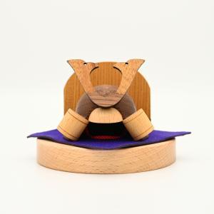 こまむぐ公式・限定商品 どんぐり兜-兜セット 木のおもちゃ 日本製 知育 木育 五月人形|comomg