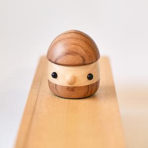 こまむぐ公式 限定商品 なちゅらる・どんぐり ブビンガ 国産 どんぐりころころ 動くおもちゃ 木製玩具|comomg
