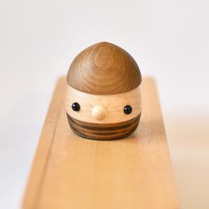 こまむぐ公式 限定商品 なちゅらる・どんぐり チーク 国産 どんぐりころころ 木の玩具|comomg