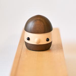 こまむぐ公式 限定商品 なちゅらる・どんぐり ウォルナット 日本製 どんぐりころころ 自然木 木製玩具|comomg