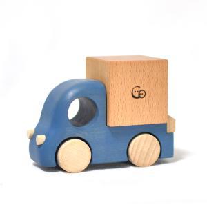 こまむぐ公式 Tuminy・トラック単品 木のおもちゃ 日本製 知育 木育 木の車|comomg