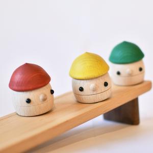 こまむぐ公式 どんぐりセット 木のおもちゃ 国産 知育 木育 出産祝い どんぐりころころ|comomg