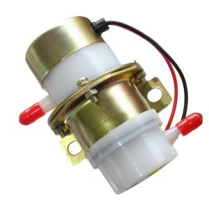 cmy select 12V 燃料ポンプ 汎用 フューエルポンプ 電磁 小型 ガソリン 軽油 ([白...