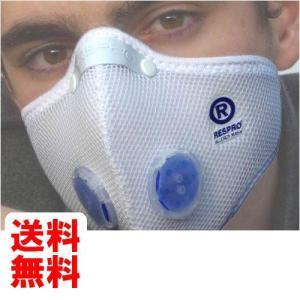 レスプロ RESPRO アレルギー対策モデル 超軽量ポリエステル素材 エアロ/アレルギーマスク ホワイト S