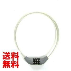 J&C 可変式ダイヤル錠 JC-001W クリア 12x650  02828