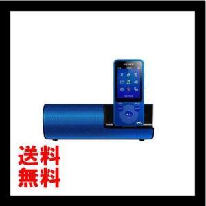 SONY ウォークマン Eシリーズ 4GB スピーカー付 ブルー NW-E083K/L